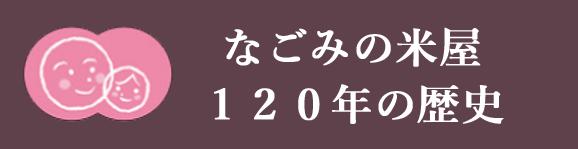 米屋120周の歴史